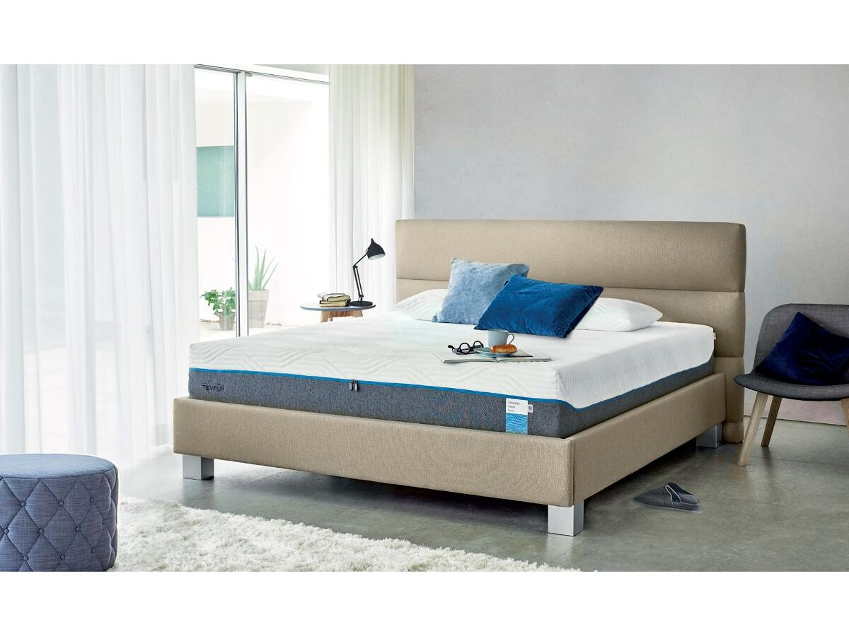 matelas visco latique moelleux 30 cm moutiers les mauxfaits. Black Bedroom Furniture Sets. Home Design Ideas